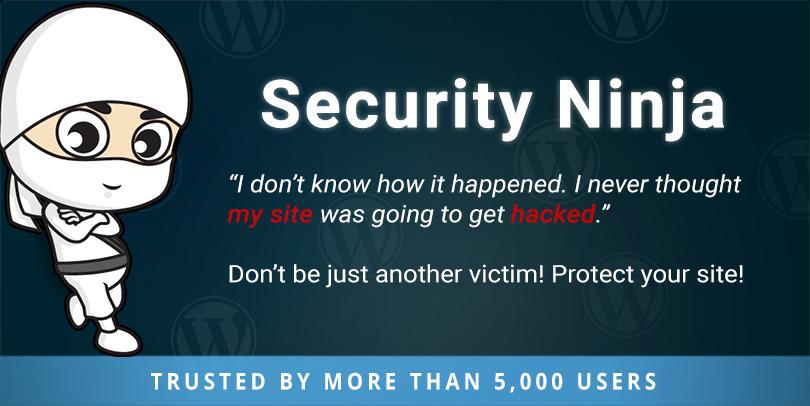 Security Ninja Banner