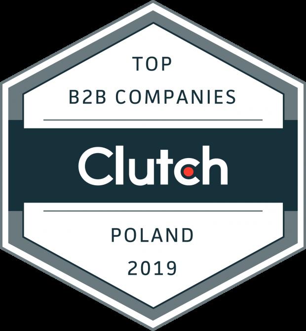 TOP B2B Companies Poland 2019 Clutch Award
