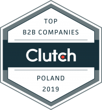 TOP B2B Companies Poland 2019 Clutch Award