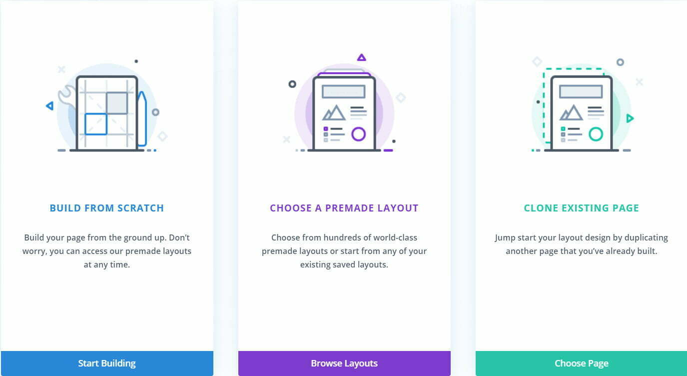 Divi is intuitive